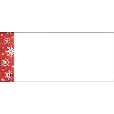 Great Papers® Snowy Flakes #10 Envelopes