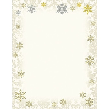 Great Papers® Gold and Silver Foil Flakes Stationery