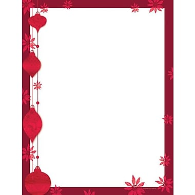 Great Papers® Painterly Poinsettia Stationery