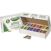 Crayola® Crayon Class Packs, 8 Color Regular Size, 800/Box