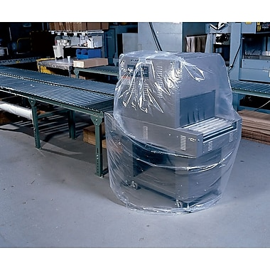 3-Mil Extra-Large Gusseted Polyethylene Bags, 48