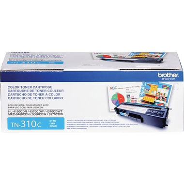 Brother Toner Cartridge, Cyan (TN310C)