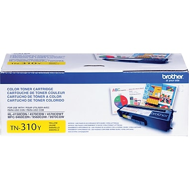 Brother TN-310Y Yellow Toner Cartridge