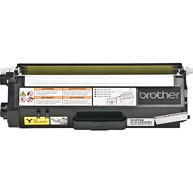 Brother TN315Y Yellow Toner Cartridge, High Yield