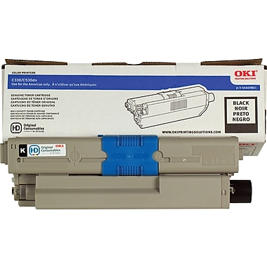 Okidata® 44469801 Black Toner Cartridge