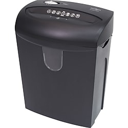 Omnitech OT-NXC122PA 12-Sheet Cross-Cut Paper / Credit Card / Staples Shredder (Black)