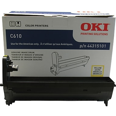 Okidata Yellow Drum Cartridge (44315101)