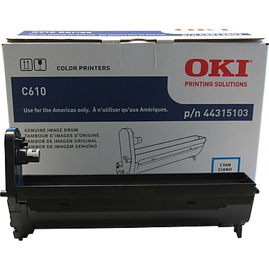 Okidata® 44315103 Cyan Drum Cartridge