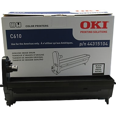 Okidata® 44315104 Black Drum Cartridge