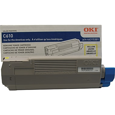 Okidata® 44315301 Yellow Toner Cartridge