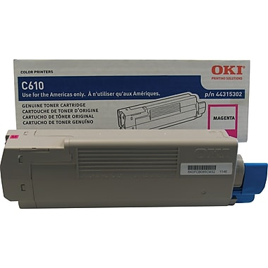 Okidata® 44315302 Magenta Toner Cartridge