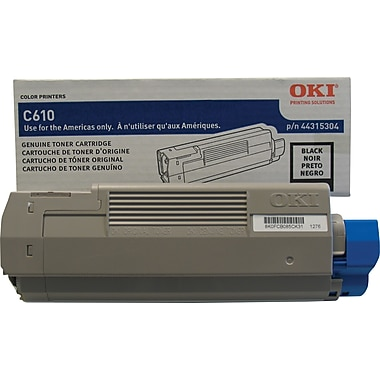 Okidata® 44315304 Black Toner Cartridge