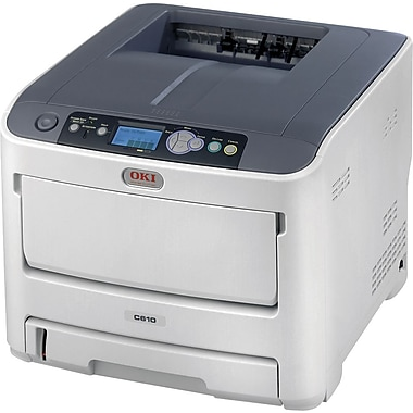 OKI® C610n Digital Color Laser Printer