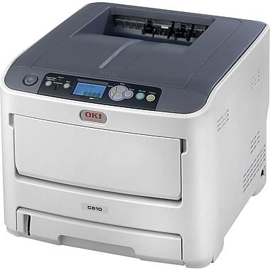OKI® C610n Digital Color Laser Printer
