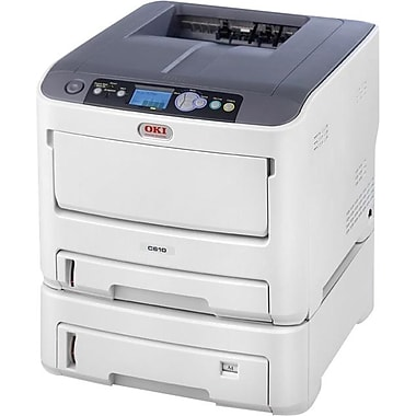 OKI® C610dtn Digital Color Laser Printer
