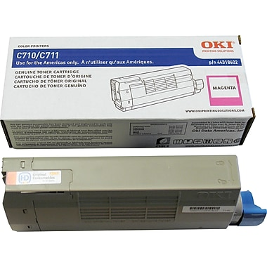 Okidata® 44318602 Magenta Toner Cartridge
