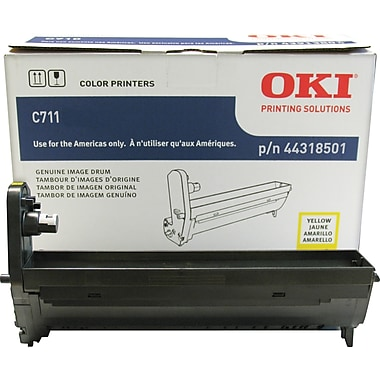Okidata Yellow Drum Cartridge (44318501)