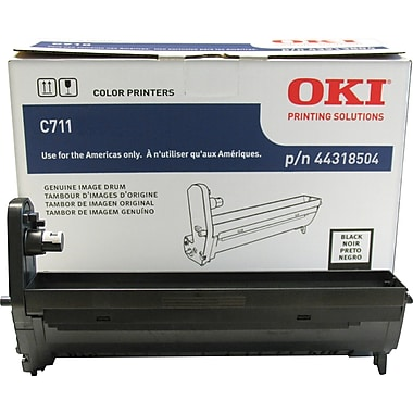 Okidata® 44318504 Black Drum Cartridge