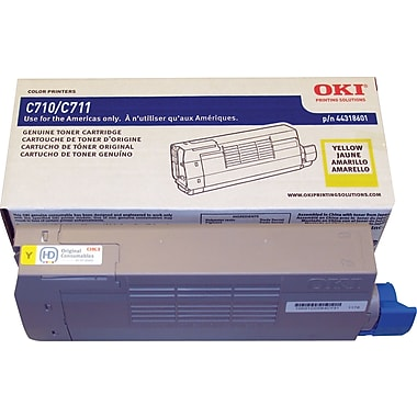 Okidata® 44318601 Yellow Toner Cartridge