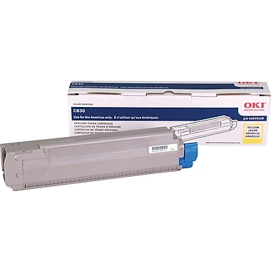 Okidata Yellow Toner Cartridge (44059109)