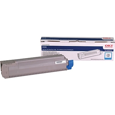 Okidata Cyan Toner Cartridge (44059111)