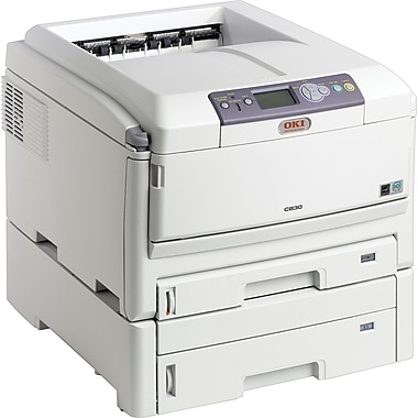 OKI® C830dtn Digital Color Laser Printer