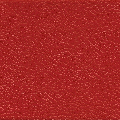 OSP Designs® Metro Bonded Leather Parsons Chair, Crimson Red