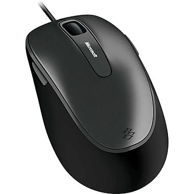 Microsoft Comfort Mouse 4500 4FD-00025 USB Wired BlueTrack Mouse, Lochness Gray