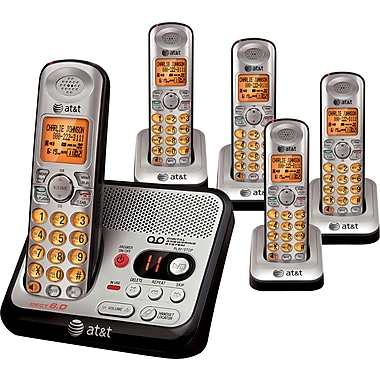 AT&T EL52500 Cordless Phone with Digital Answering System