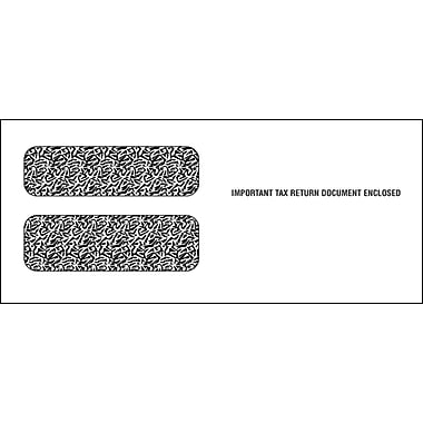 TOPS® Gummed Double Window Envelope for LW23UP Tax Form, 24 lb., White, 3 3/4