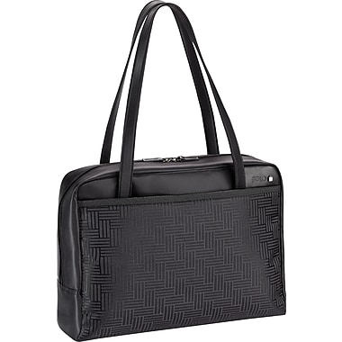 SOLO® Sterling Collection Ladies Laptop Tote, Black, 16in.