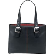 SOLO® Classic Collection Ladies Laptop Tote, Black/Red, 16