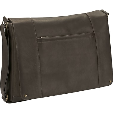 SOLO® Vintage Collection Laptop Bag, Espresso, 16in.