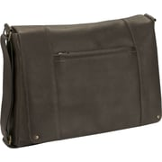 SOLO® Vintage Collection Laptop Bag, Espresso, 16