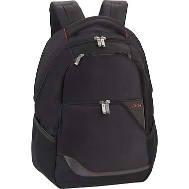 SOLO® Laptop Backpack, Black