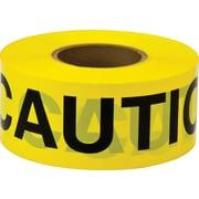 "Scotch® Caution Tape, 3"" x 300', 3-mil, Yellow"