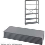 "Safco® Industrial Steel Shelving Unit, Supports 725 lbs. per Shelf, Gray, 48""W x 18""D"