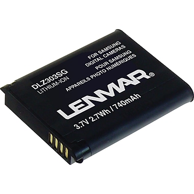 Lenmar Replacement Battery For Samsung AQ100, TL105, TL110, SL50, SL605 Series Digital Cameras