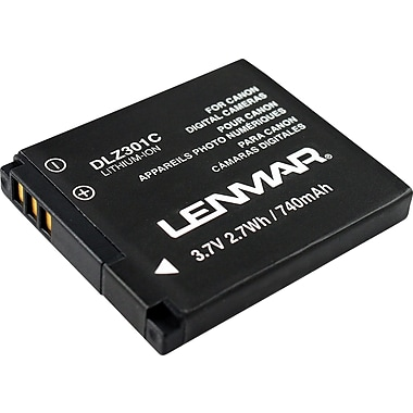 Lenmar Replacement Battery for Canon Powershot A3000 IS, A3100 IS Series Digital Cameras