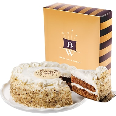 Bake-Me-A-Wish!™ 7in. Happy Birthday Carrot Cake