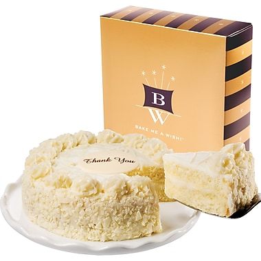 Bake-Me-A-Wish!™ 7in. Thank You  Vanilla Bean Cake