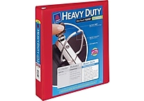 1-1/2' Avery® Heavy-Duty View Binder with One Touch™ EZD® Ring, Red