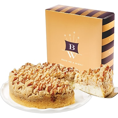 Bake-Me-A-Wish!™ 7in. Caramel Apple Crumb Cake