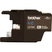 Brother Ink Cartridge, Cyan, High Yield (LC75CS)