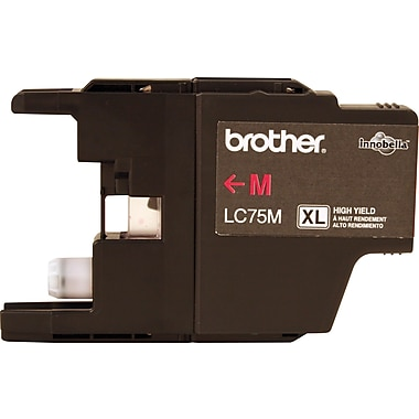 Brother Ink Cartridge, Magenta, High Yield (LC75MS)