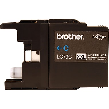 Brother LC79C Cyan Ink Cartridge, Super High Yield
