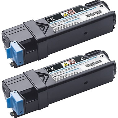 Dell 899WG Black Toner Cartridge (84R1W), High Yield, 2/Pack (899WG)