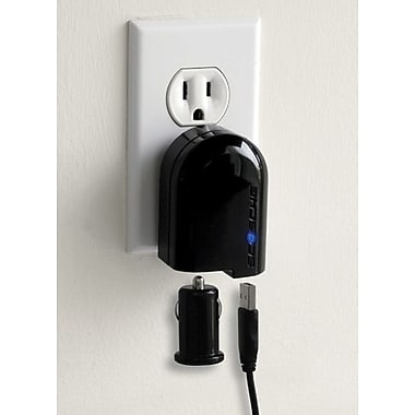 Scosche® powerFUZE Pro - Home & Car USB Charging Kit for iPod & iPhone
