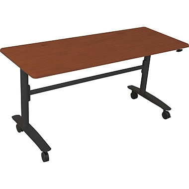Balt Lumina™ 60in. Rectangular Flipper Table, Cherry