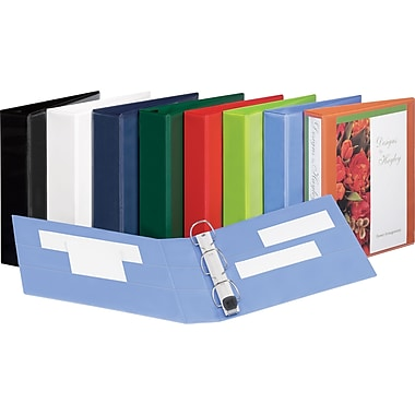 3in. Avery® Heavy-Duty View Binders with One Touch™ EZD® Rings, Green